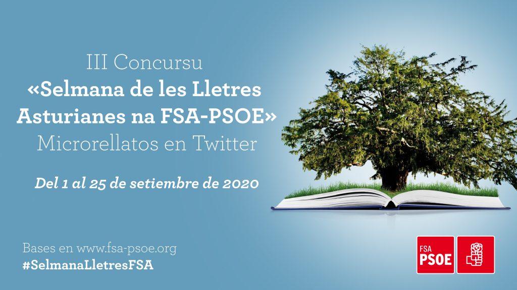 III Concursu «Selmana de les Lletres Asturianes na FSA-PSOE»
