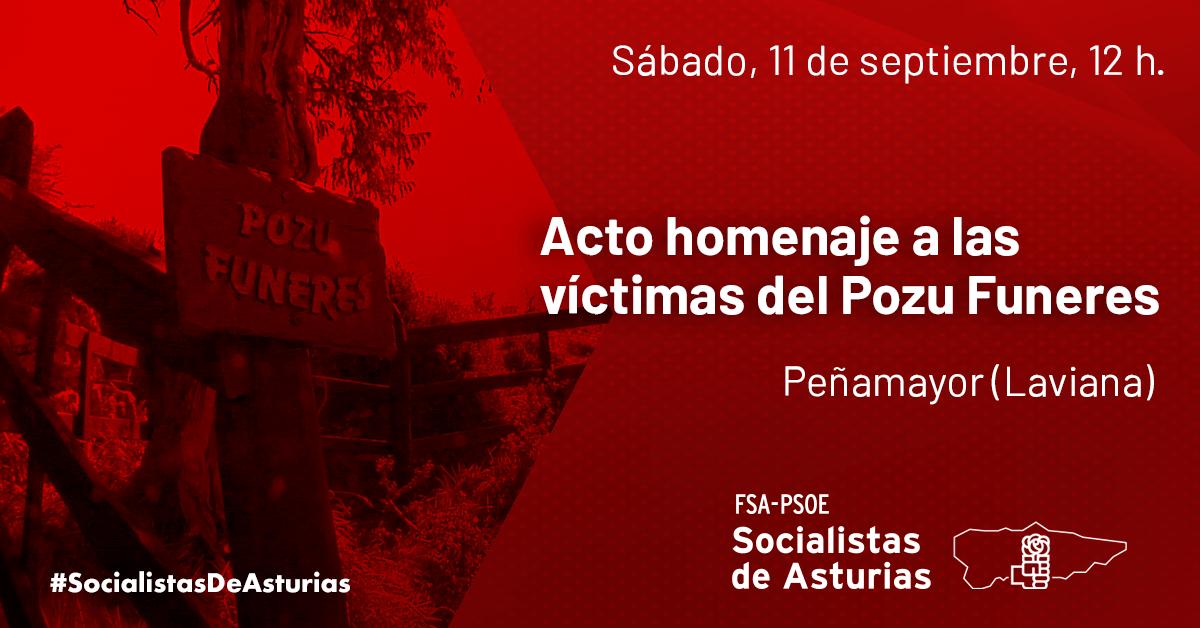 Acto homenaje a las víctimas del Pozu Funeres @ Pozu Funeres